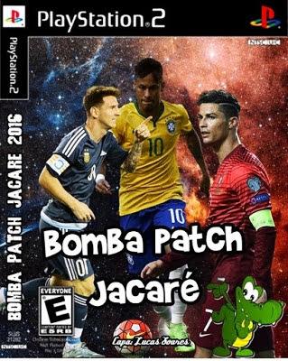 Download - Bomba Patch Jacaré 2016 (PS2) Atualizado 09 de Janeiro de 2016