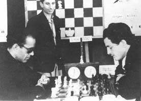 Partida Dr. Mena – F.  J. Pérez en el IV Torneo Internacional de Ajedrez de Sabadell 1945
