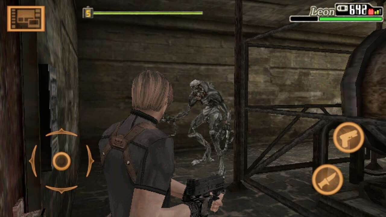 Download Game Android - Resident Evil 4 HD APK + DATA - GamedLay