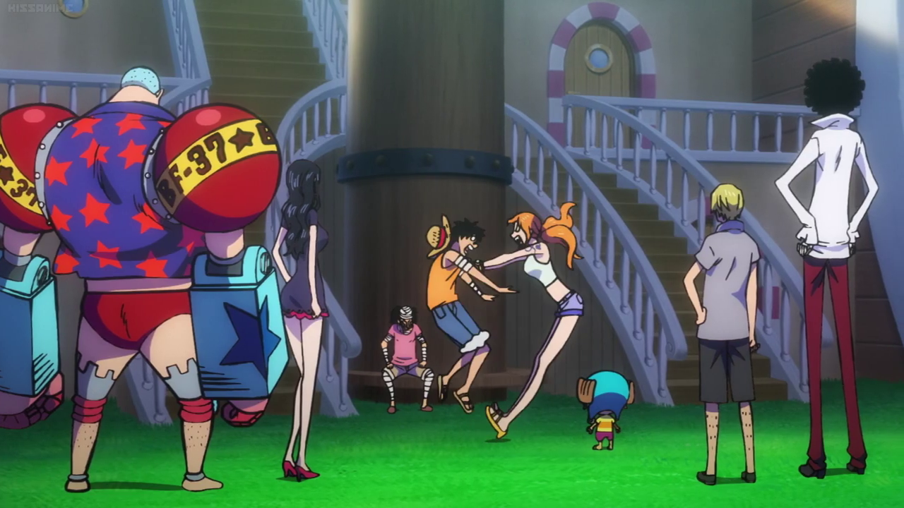 Anime Feet: One Piece: Stampede: Nami