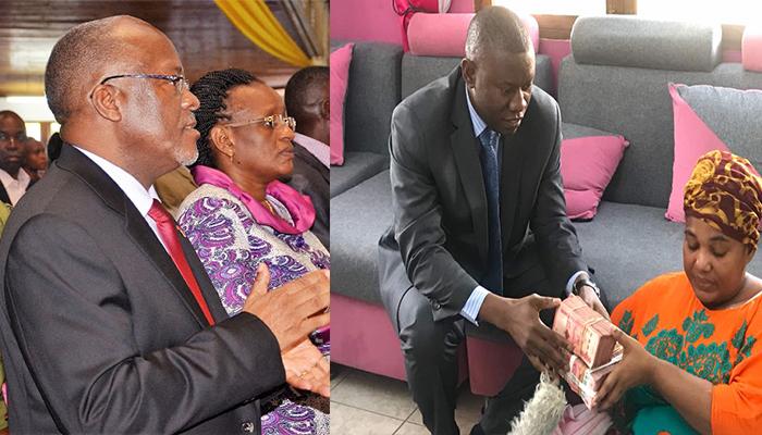 Kilio cha Wastara Chafika Ikulu...... Rais Magufuli na Mkewe Wamchangia Wastara Milioni 15