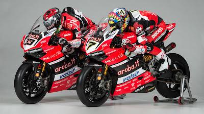 Παρουσίαση Aruba.it Racing – Ducati WSBK 2017