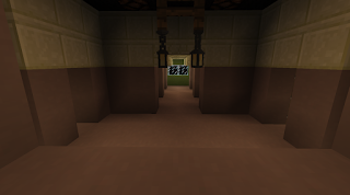 Minecraft Tower of Terror Hallway Twilight Zone