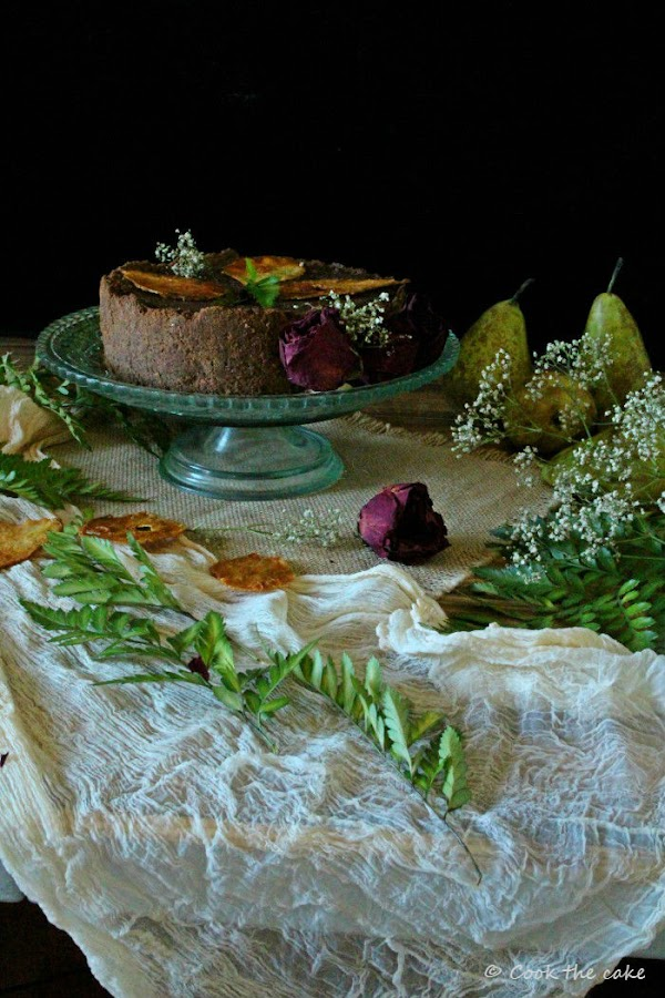 pear-ricotta-cheesecake, tarta-de-peras-y-requeson