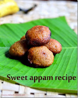 Wheat flour appam-Deep fried version