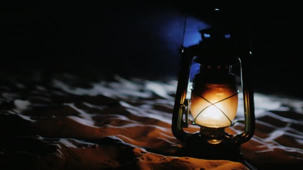 Old kerosene lamp - Misykat Al Anwar Ilustration