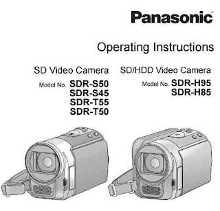 Panasonic SDR-S50 Manual