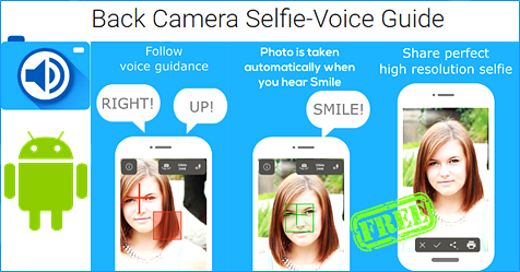 free-Back-Camera Selfie-Voice Guide-App-Android