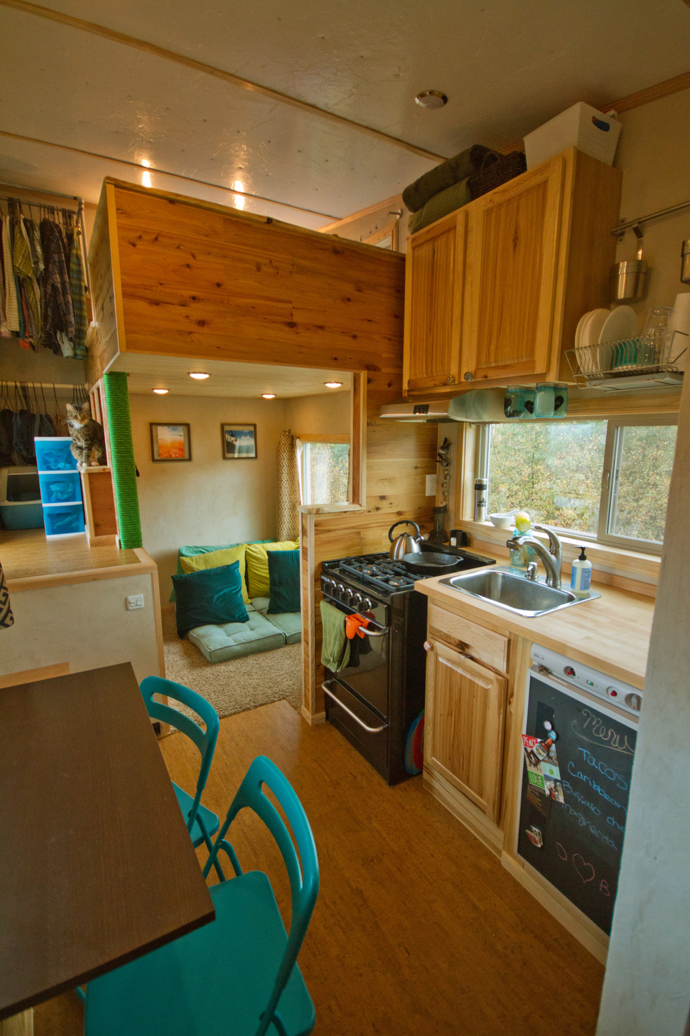 Tiny House Town The Lucky House 200 Sq Ft