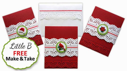Make this Free Make & Take Card with Carol Snider from Little B