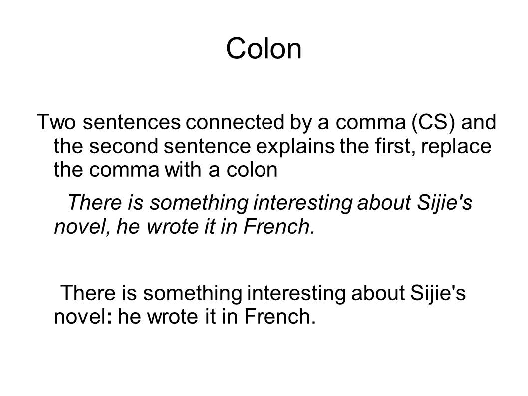 English And Esol Lab Workshops Fixing Fragments Run Ons And Comma Splices Catherine Edquilang