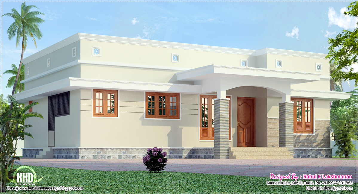 35 small and simple but beautiful house with roof deck On house plans with photos in kerala with budget