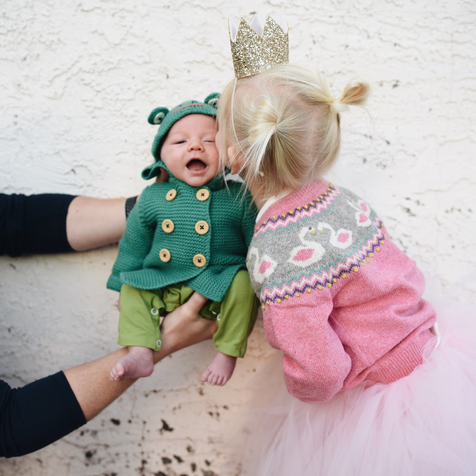 We chose darling outfits and added some fun handmade goodies to finish off their costumes. We even found a little frog sweater so that Briar could be ...  sc 1 st  Hello Baby Brown & Hello Baby Brown: October 2017