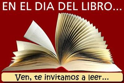 Dibujo de un libro abierto por el Día Mundial del Libro y del Derecho de Autor