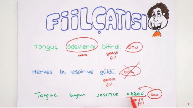 8. sınıf Türkçe konuları