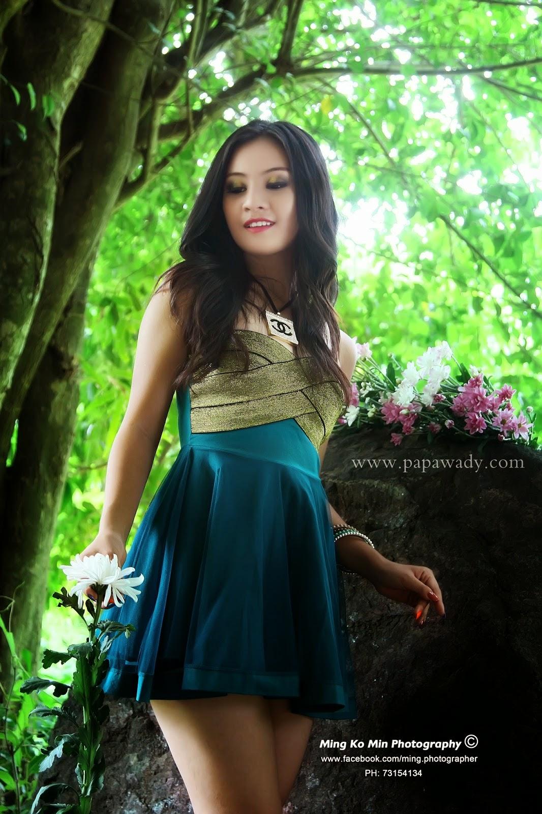 Myanmar Model Girl in 2020 | Model girl photo, Model