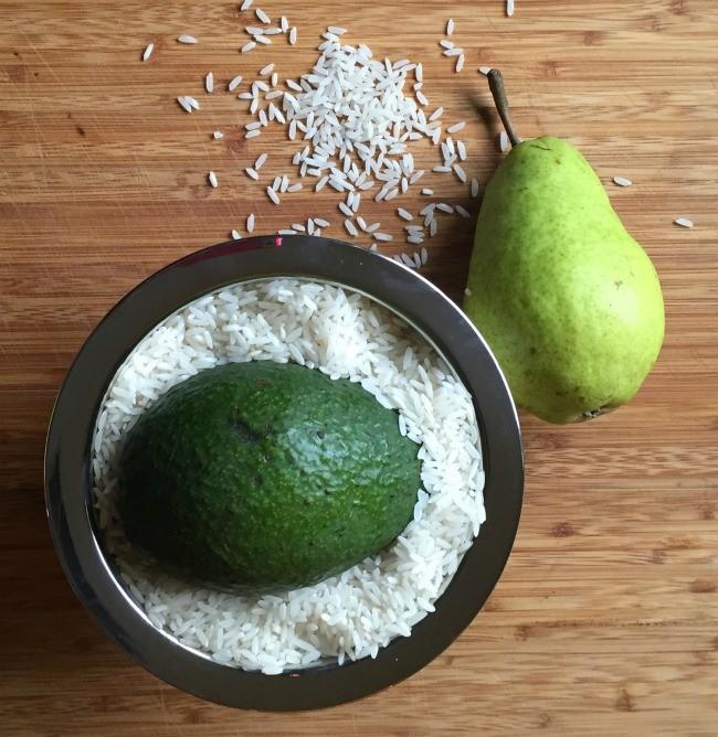 Submerge in Rice for Fruit Ripening - Muddlex