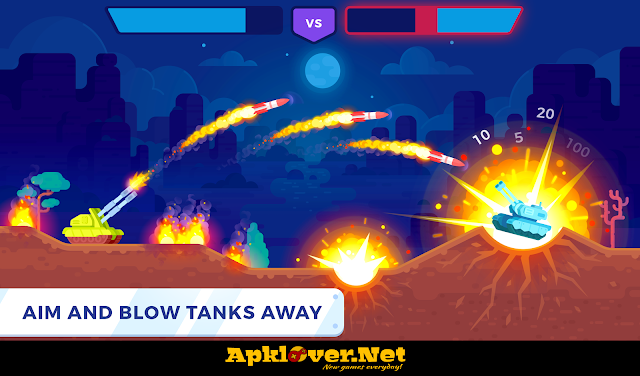 Tank Shock APK MOD unlimited money