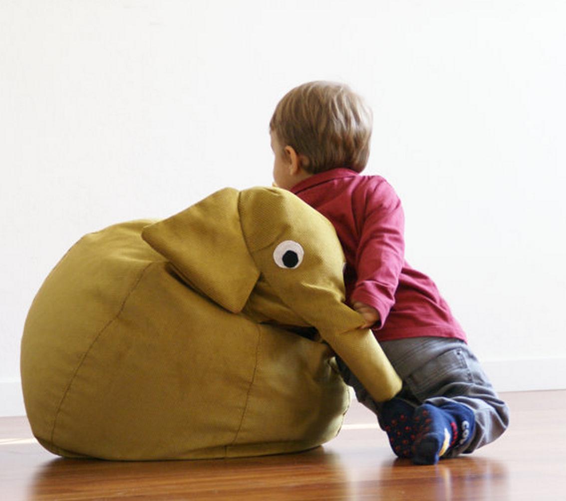Wallpaper Free Download Elephant Bean Bag