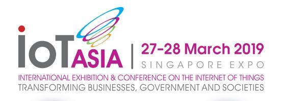 APTIKNAS mendukung IoT Asia 27 - 28 Maret 2019 - Singapore