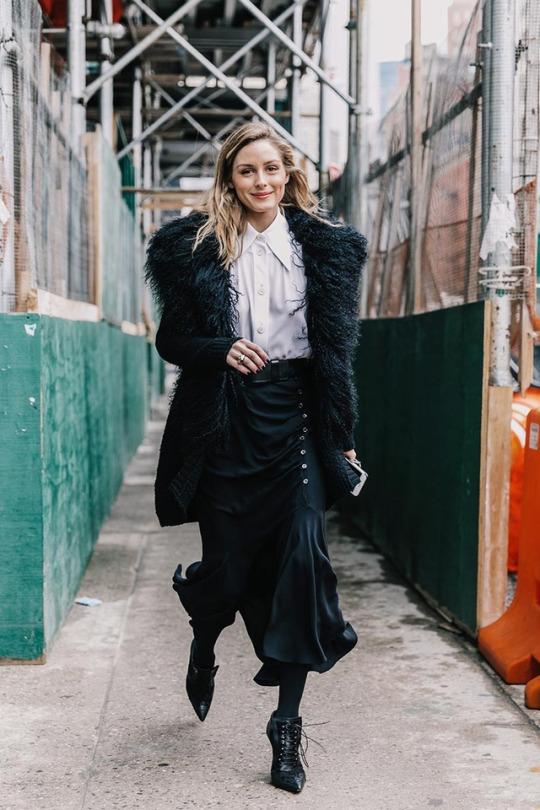 The Olivia Palermo Lookbook Olivia Palermo At New York Fashion Week
