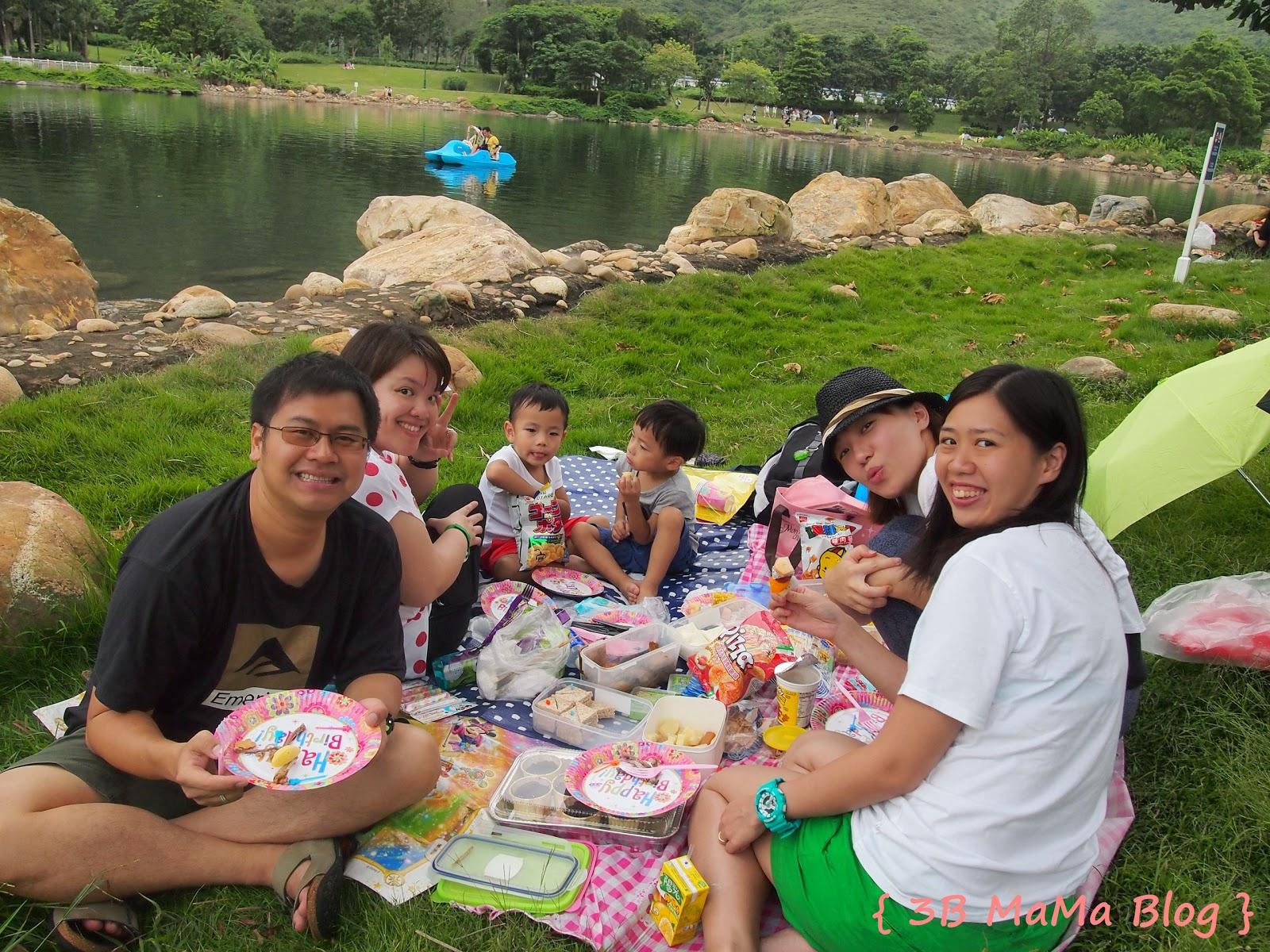 3B MaMa Blog: LONG WEEKENDの迪欣湖野餐