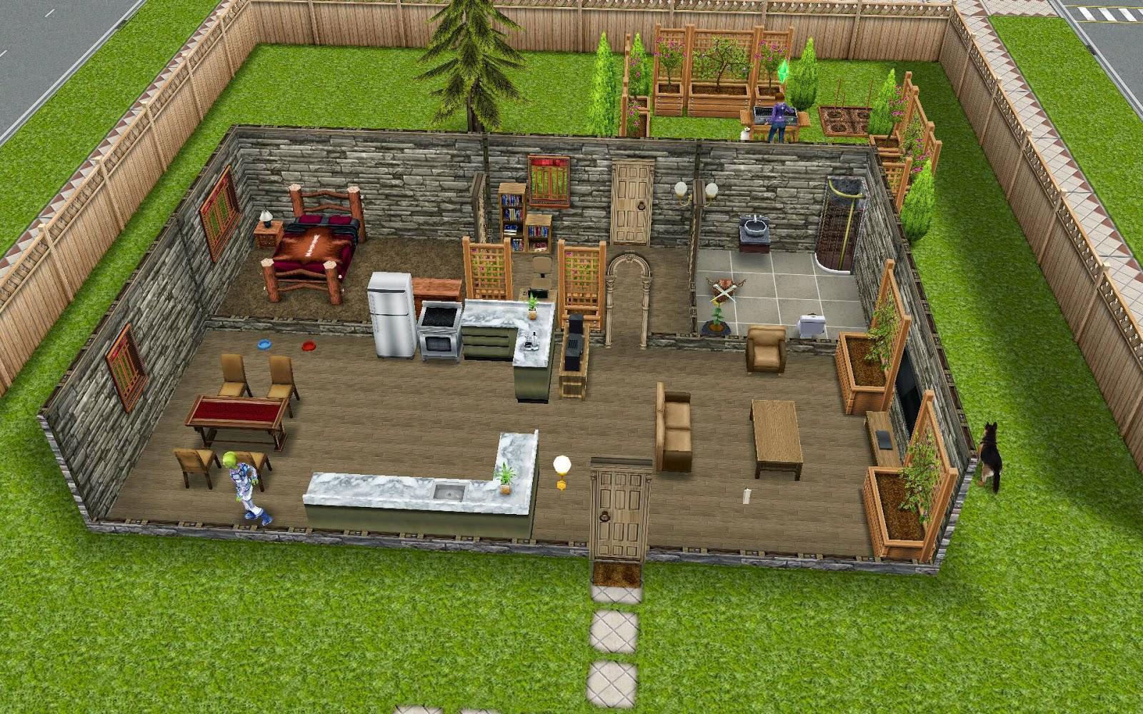 House Design Games App Sims Freeplay Housing Minimalist