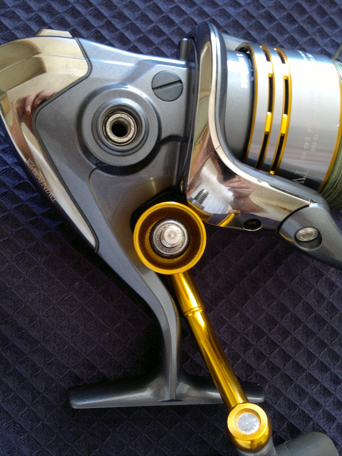 Predadores ao spinning shimano twinpower 4000 swa for Estanque wc plastico