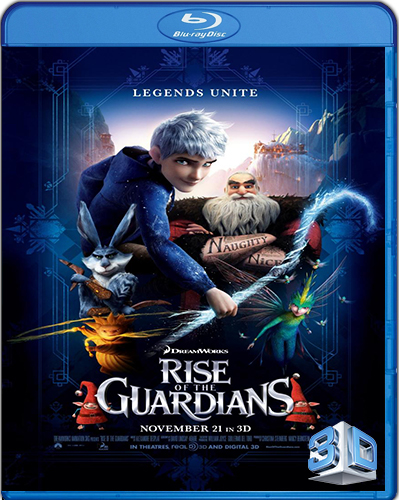 Rise of the Guardians [2012] [BD50] [3D] [Latino]