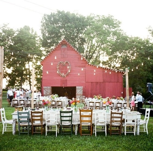 Small Country Wedding Ideas: A Country Chic Wedding: Giddy Up!