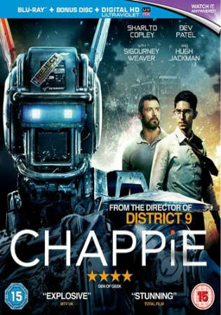 Chappie 2015 BRRip 850MB Hindi Dual Audio 720p Watch Online Full movie Download bolly4u
