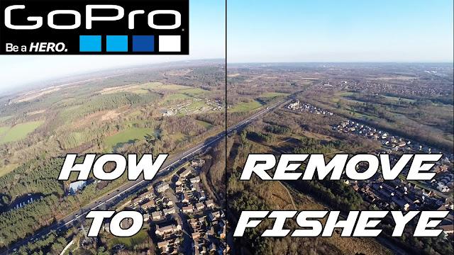 Vídeo mostra como remover o efeito lente olho de peixe
