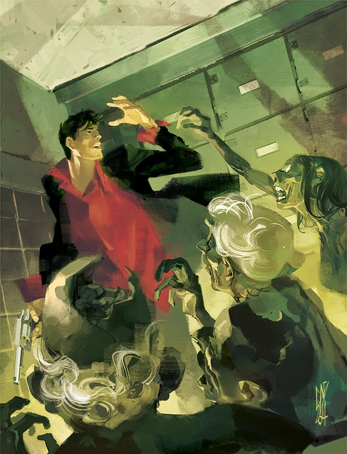 Maxi Dylan Dog Old Boy #2 (cover by Gigi Cavenago)