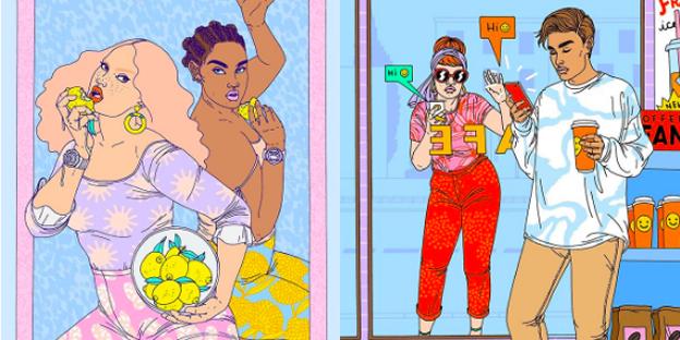 fashion illustrators to follow on instagram
