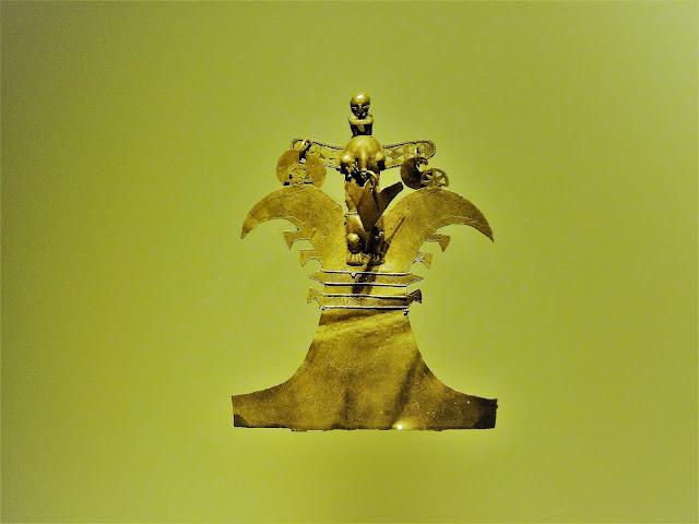 鳥信仰(コロンビアの黄金文明時代)