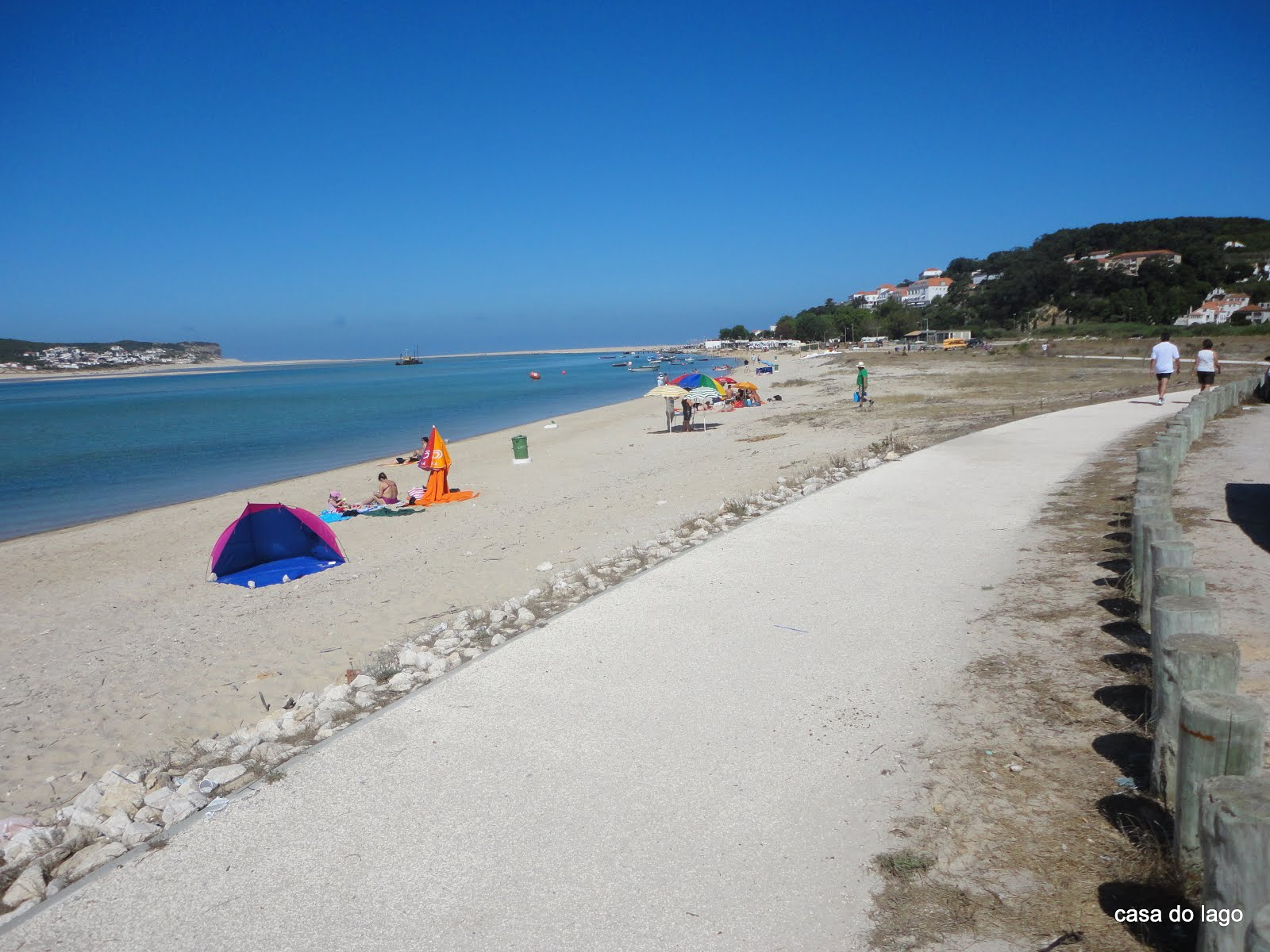 Local beach at Caldas da Rainha
