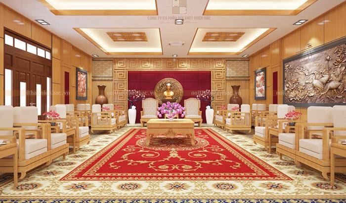 Thiết kế nội thất phòng khánh tiết phong cách hiện đại - H2