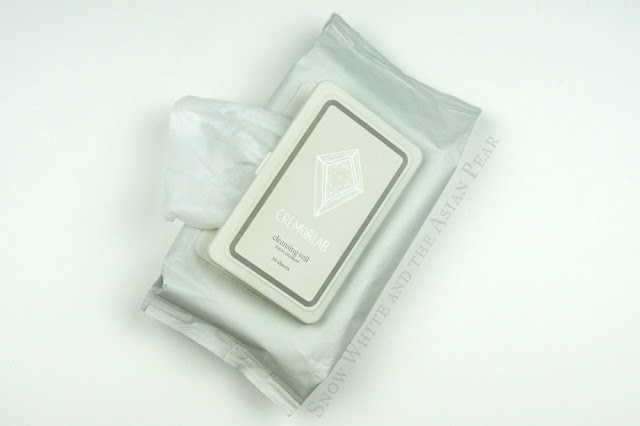 Cremorlab makeup wipes