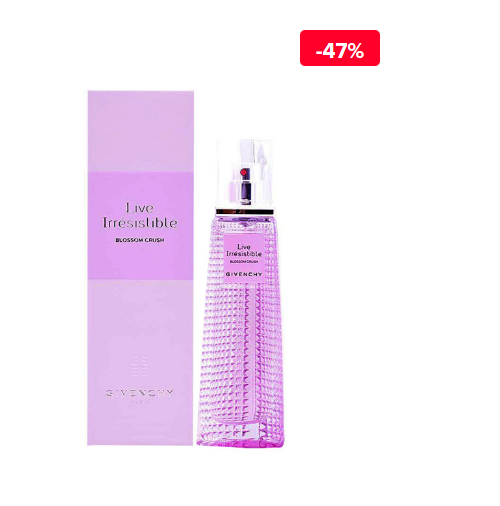 Apa de toaleta Givenchy de femei Live Irresistible Blossom Crush, 50 ml