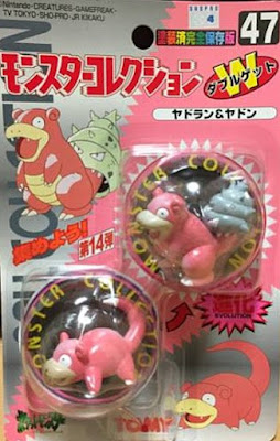 Slowpoke Pokemon figure Tomy Monster Collection series