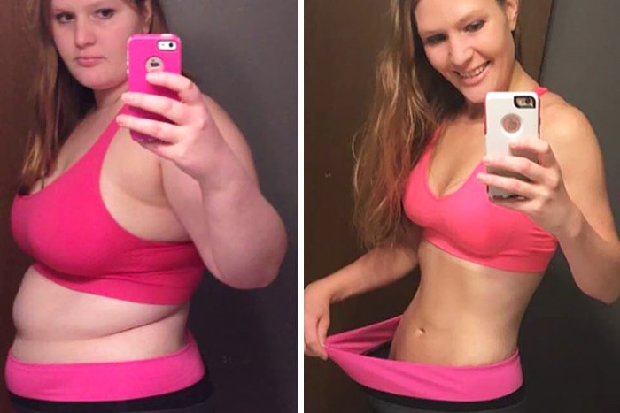 Девушки До и После Похудения (30 фото)