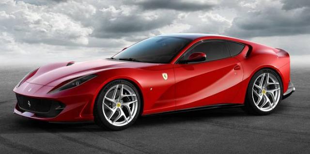 2018 Ferrari 812 Superfast Design