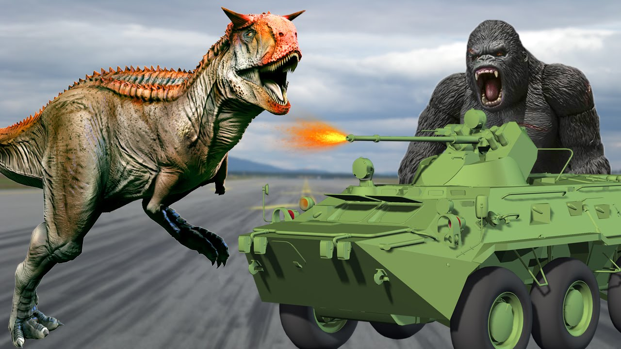 king kong vs dinosaurs fighting dinosaurs movies for children