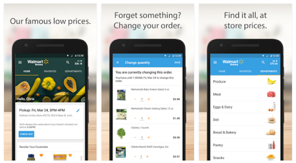 Walmart Grocery Mobile App - Youth Apps - Best Website for Mobile