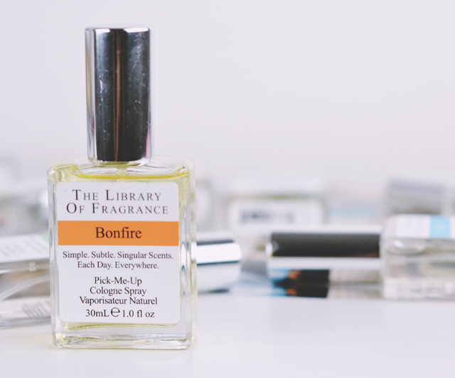 The Library of Fragrance Bonfire Review