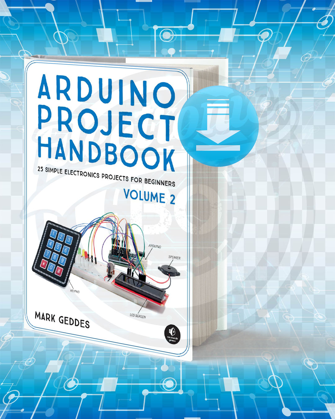 Free Book Arduino Project Handbook Volume 2 pdf.