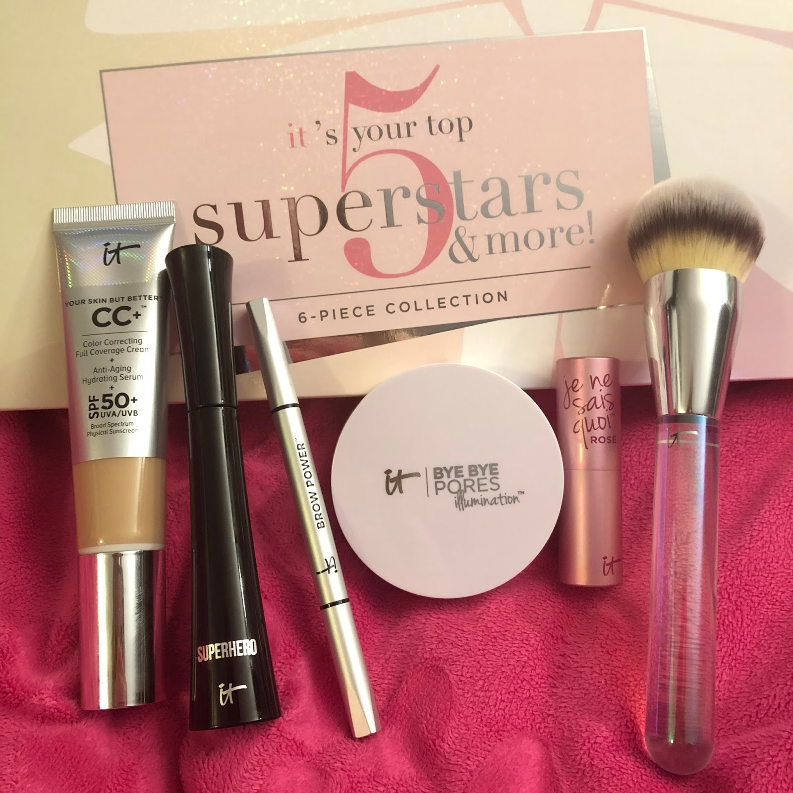 IT Cosmetics IT's Your Top 5 Superstars and More QVC Today's Special
