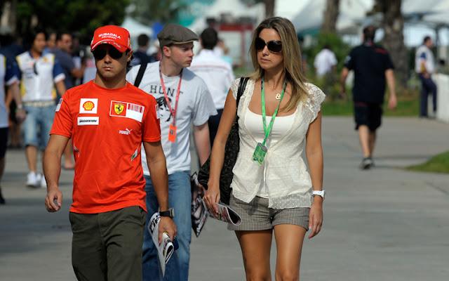 Rafaela Bassi esposa de Felipe Massa. Las esposas y novias de los pilotos de Formula Uno F1. Las parejas de los pilotos de la Formula Uno F1. Ex novias y ex esposas de los pilotos de Fórmula Uno F1. Ex esposas de los pilotos de Fórmula Uno F1. Ex parejas de los pilotos de Fórmula Uno F1.
