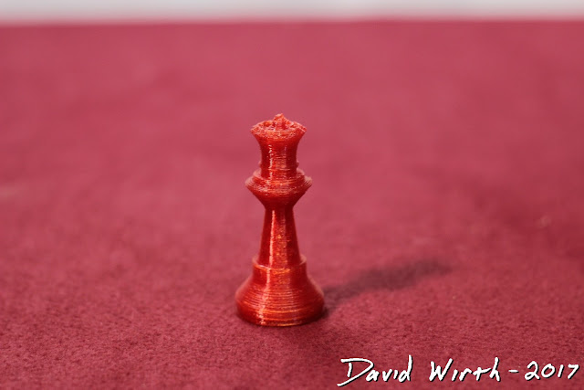 cool 3d printed chess set, free, design, custom