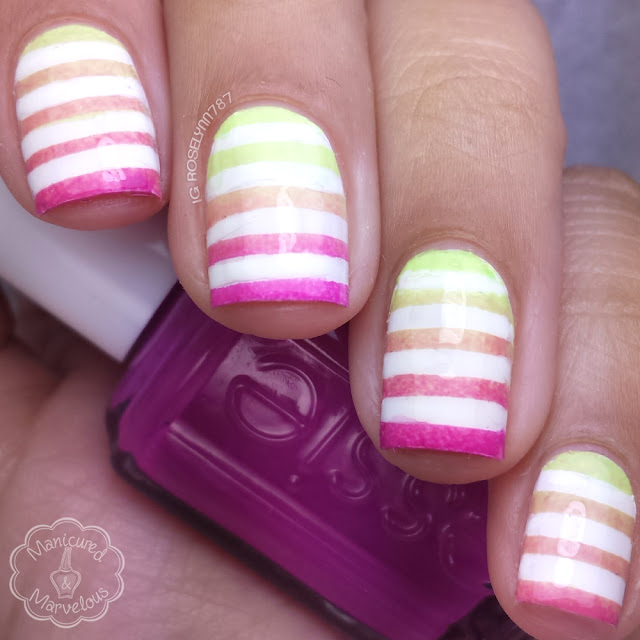 GlamMyMani - Stripes Nail Vinyls